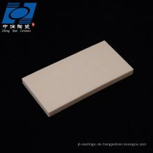 rechteckige al2o3 keramische brennplatten