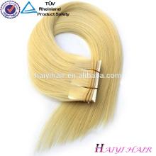 Cheveux foncés de Remy de Vierge avec les points culminants blonds