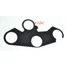 Carbon Fiber Fork Upper Connective Plate Cover for Kawasaki Zx10r 2016
