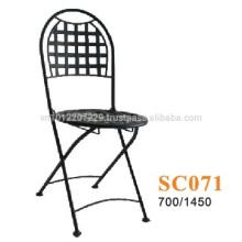 Metallmöbel - Stuhl Bistro