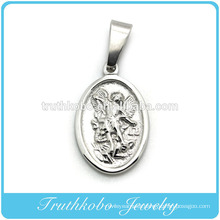 Truthkobo Casting High Quality Guardian Angel Stainless Steel Religious Jewelry Pendant Wholesale