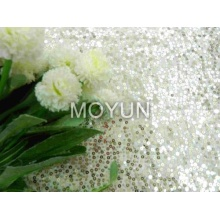 POLY TRICOT AVEC 3MM SEQUIN EMBD 50/52 ""