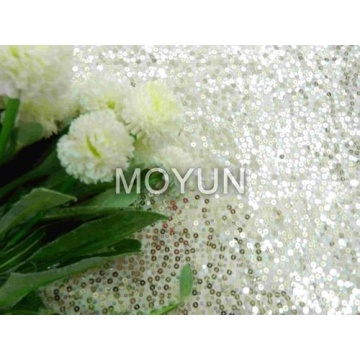 """POLY KNITTING WITH 3MM SEQUIN EMBD 50/52"""""""