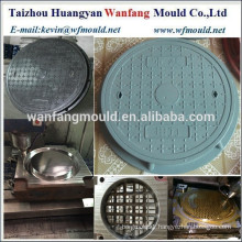 china plastic mold for manhole cover