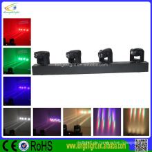4 * 10W 4-in-1 Vier-Kopf-LED-Beam Moving Head Disco Lights Preis