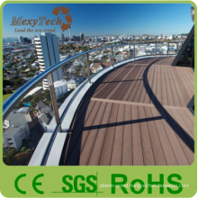 New Technology Outdoor WPC Decking with Natural Wood Grain