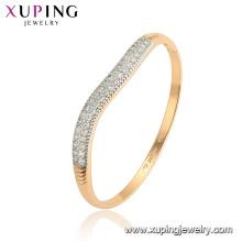 52110 xuping multicolore environnement bracelets de mode en alliage d'or de cuivre