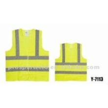 Chaleco de seguridad de alta visibilidad Y-7113