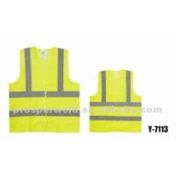 High Visibility Safety vest Y-7113