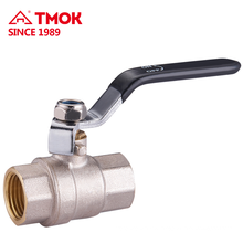 Standard Femal thread High quality brass ball valve for flow control with long handle