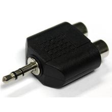 Adaptador de 3,5 mm de audio a 2 RCA
