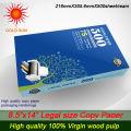 100% Holz Zellstoff Büro Doppel ein weißes A4 Kopierpapier 80gsm (210mm * 297mm)