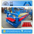 HC37 Automatic Color Steel Trapezoidal Iron Roofing Sheet Cold Roll Forming Machine