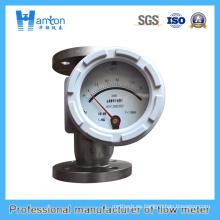 Medidor de flujo de metal para medir flujo bajo