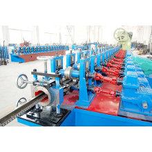 Máquina formadora de rolo vertical de rack de armazenamento