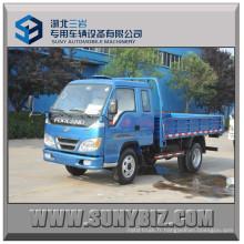 Foton Forland 115HP 6ton 4 * 2 Camion à benne basculante 4X2 Mini camion benne