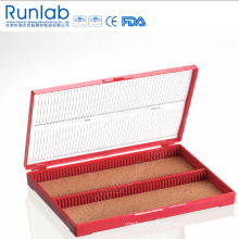 Microscope Slide Storage Boxes with 100 Place