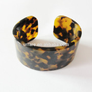 2014 Tortoise Shell Jewelry Cellulose Acetate Thick Bangles