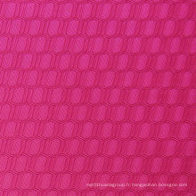 Tissu polyester à double ligne hexagonal Oxford