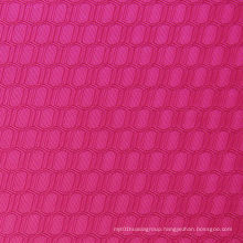 Double Line Hexagon Oxford Polyester Fabric
