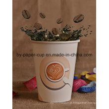 Venda por atacado do copo de café quente feito sob encomenda