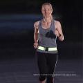 4CM Width Custom Logo Hi Vis Elastic Reflective Belt for Running