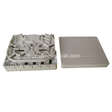 4 portas FTTH Optic Socket / Fiber Optic Termination Box