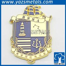 Insígnias do Metal Sailing Council com logotipo original