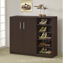 Wooden Shoe Cabinet Storage Shelves Furniture (HF-EY08182)