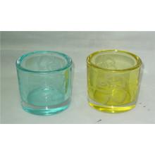 Dekorative Säule Glas Kerze Halter / Kerzenhalter Halter