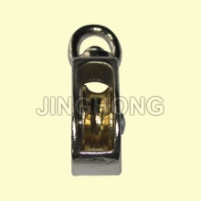 Nickel Plated Swivel Eye US Type Pulley With Single Wheel