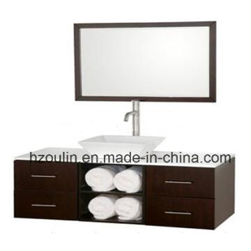 Modern Wooden Bathroom Furniture (BA-1143)