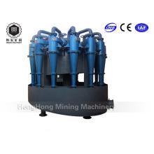Separador de arena de hidrociclones, diseño de hidrociclones de beneficencia para el proceso de separación de minerales