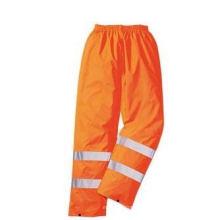 Высокая видимость безопасности брюки, сделан из ткани Оксфорда полиэфира,