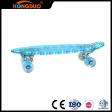 Skate de cruzeiro completo de plástico gráfico novo com EN13613