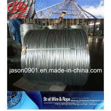 Alambre de acero galvanizado (fábrica)