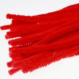 Red Hand craft Chenille Stem for kids DIY