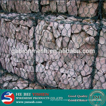 2014 China Hot Sale galvanized or pvc coated gabion mesh