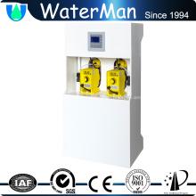 maquinaria de generación de oxidante de dióxido de cloro con tanque