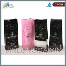 Quad-Seal Kaffee Verpackung Taschen mit ausgezeichneten Custom Printing