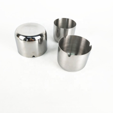 the modern windproof stainless steel tabletop ash tray metal cigarette ashtray