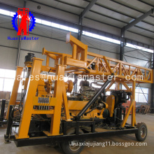 XYX-44A Wheeled rock soil core Drilling Rig water well drilling machine/auger rotary truck vehicle mounted drilling machine