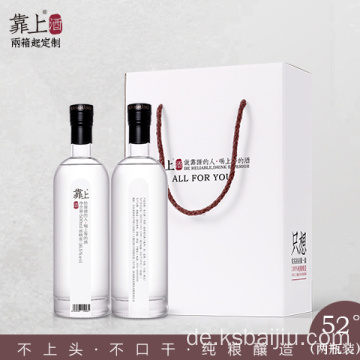Chinese Baijiu Wholesale Alcohol Gifts nach Volumen 52