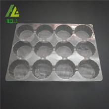 Plastik Cupcake Behälter mit 12 Fächern