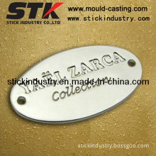 Custom Logo Plate (for handbags, Luggages)