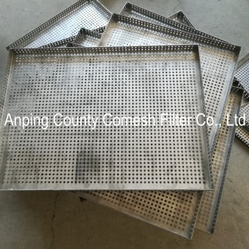 Stainless Steel Metal Mesh Food Industry Tray