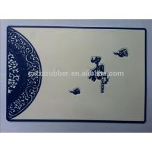 classical design non slip car mat, customized sticker car mat