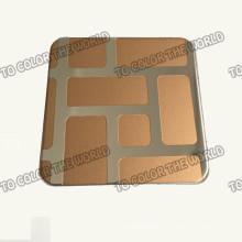 Feuille gravée par Ket005 de l'acier inoxydable 304 pour des matériaux de décoration