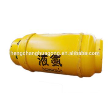 Cilindro de acero líquido de amoníaco para uso en la industria de plaguicidas