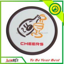 Coaster de la taza del PVC / práctico de costa suave del PVC (JN-S07)